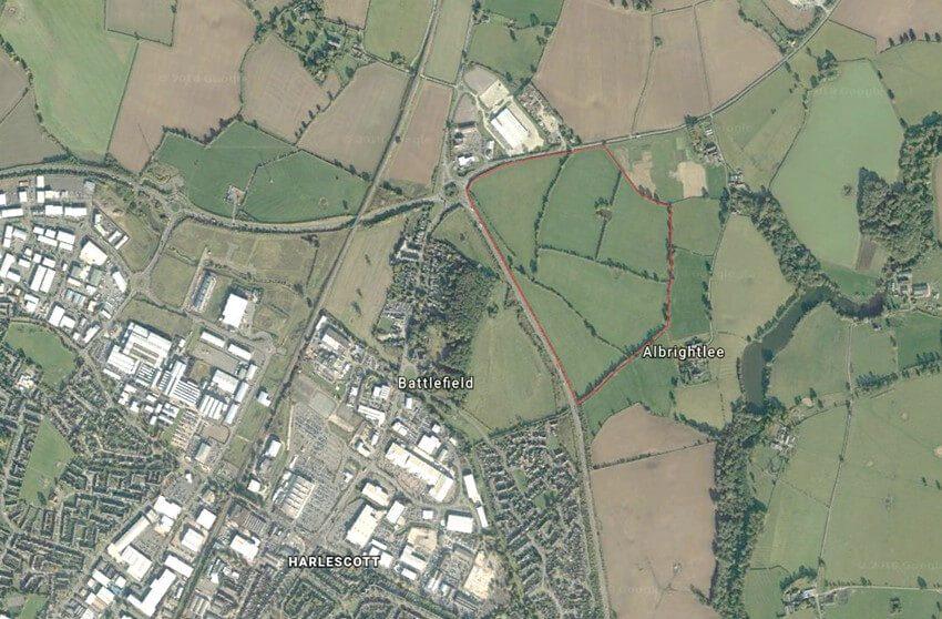 Land at Battlefield Farm, Shrewsbury
